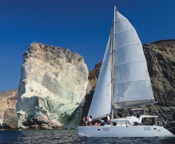 Spiridakos boat i-Santorini